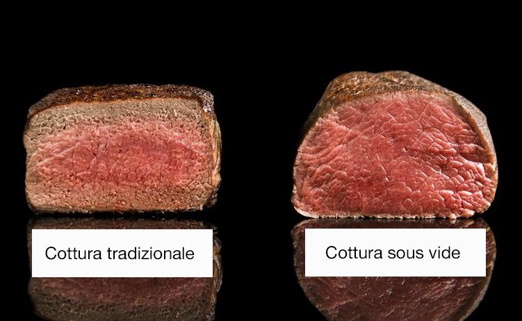 Differenza tra cottura tradizionale e sous vide