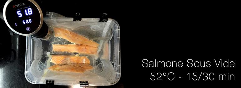 Salmone sottovuoto: cotto sous vide a bassa temperatura