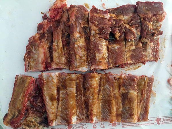 costolette di maiale sous vide cotte sottovuoto a bassa temperatura