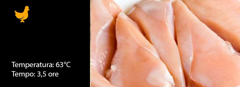 Petto di Pollo sottovuoto a bassa temperatura