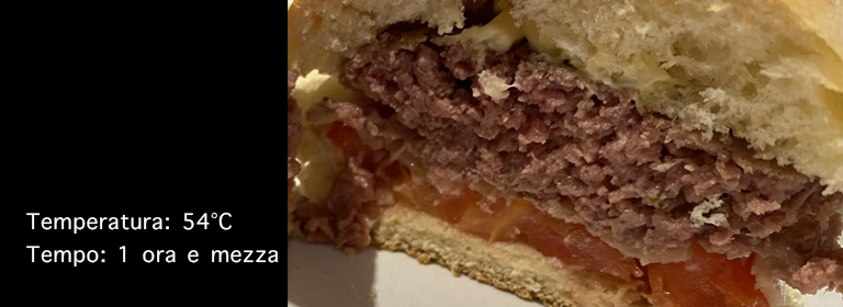 Hamburger sousvide: il perfetto hamburger sottovuoto a bassa temperatura